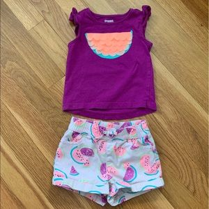 Gymboree watermelon outfit!